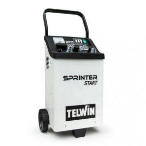 Štartovací vozík a nabíjačka akumulátorov Telwin