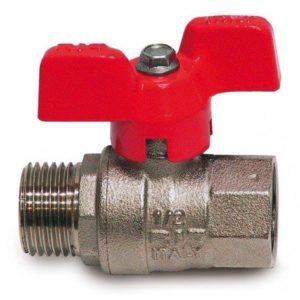 """3/4"""" guľový ventil MF s vnútorným a vonkajším závitom"""