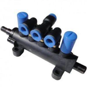 5-cestný ventil Pre hustenie pneumatík
