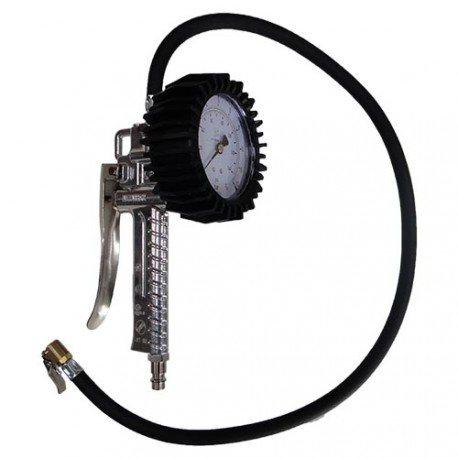 Analógový tlakomer a hustič