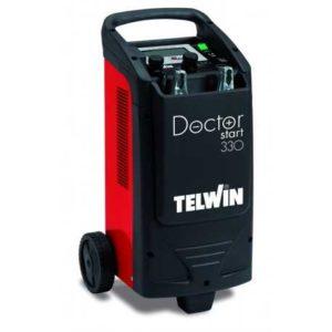 Elektronikus indító és akkumulátor töltő készülék tesztelő és diagnosztikai funkciókkal Doctor Start 330