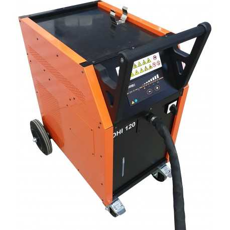 Mobilný indukčný ohrev LKW s vodným chladením