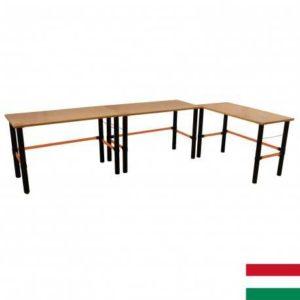 Modulárny pracovný stôl 3ks 125x62x80cm