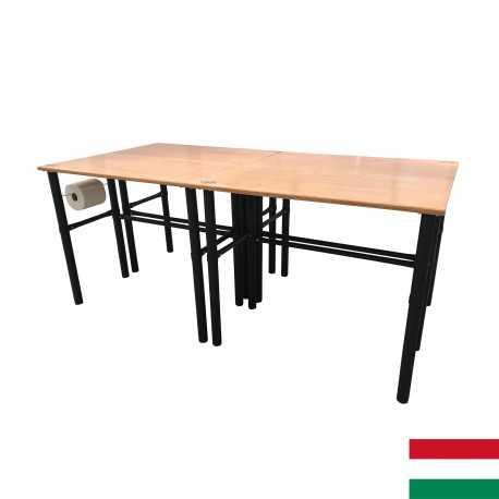 Modulárny pracovný stôl 4ks 125x62x105cm