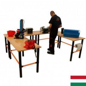 Modulárny pracovný stôl 4ks 125x62x80cm