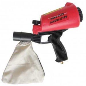 Pieskovacia pištoľ