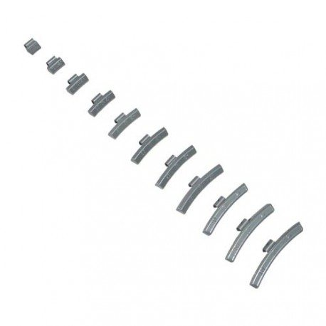 Vyvažovacie závažie pre hliníkové disky